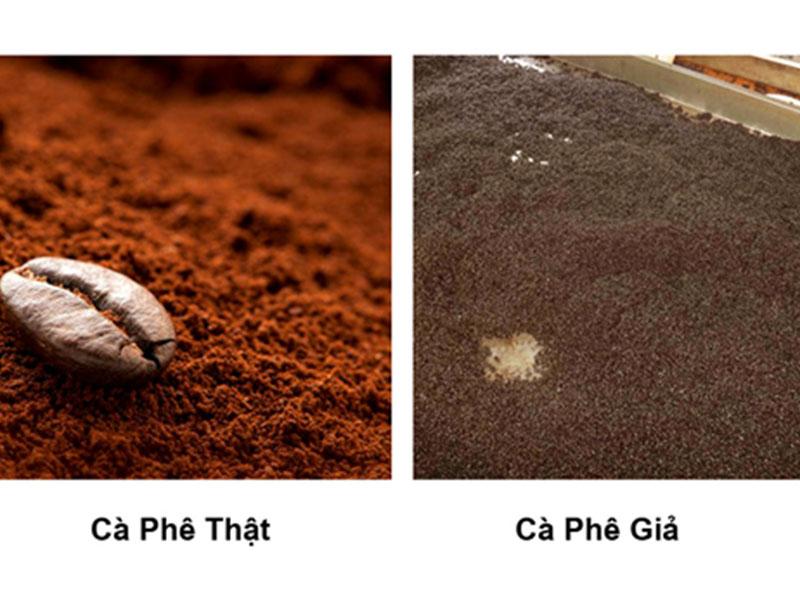 Nhận biết cà phê sạch và cà phê bẩn