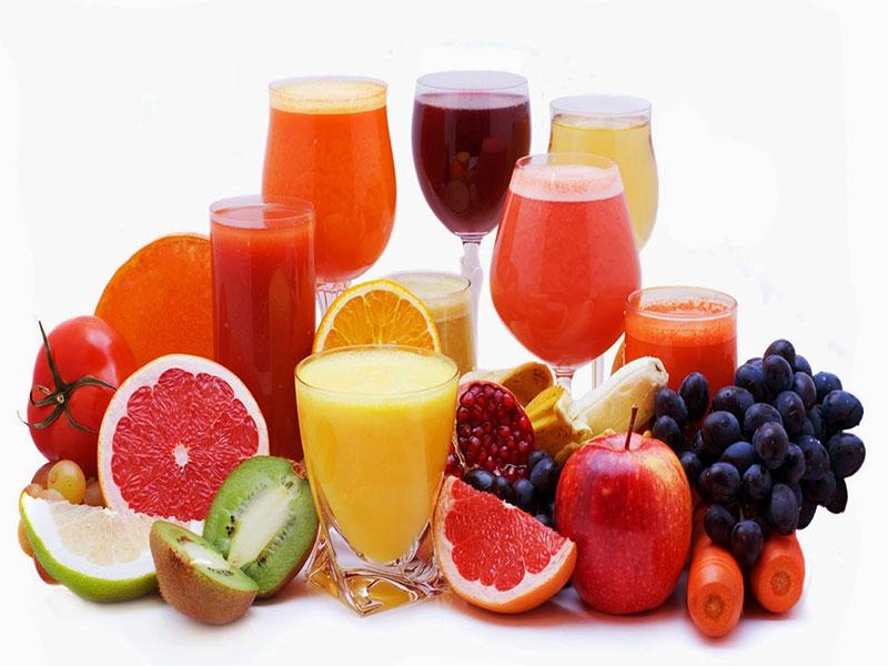 Lợi ích tuyệt vời khi uống các loại nước trái cây nguyên chất hàng ngày