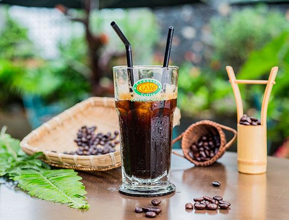 Cà phê đen sữa ADAM