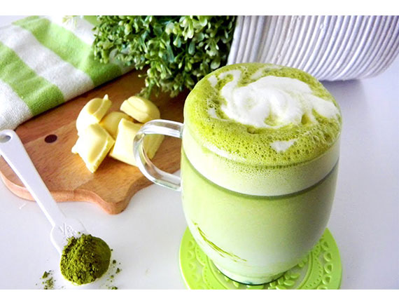 GREEN TEA CHOCOLATE ICEBLENDED