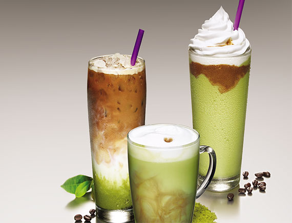 GREEN TEA COFFEE  ICE BLENDED