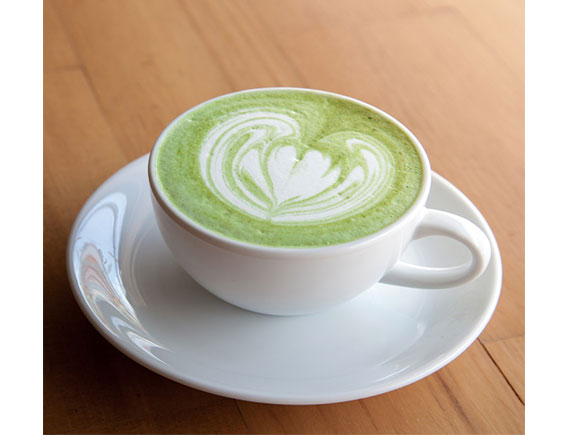 GREEN TEA LATTE HOT