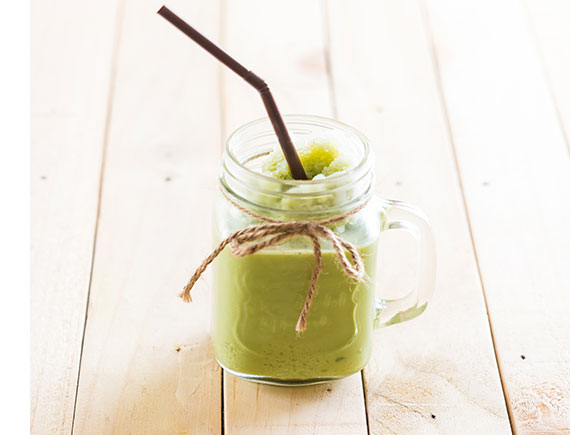 GREEN TEA LATTE ICE BLENDED