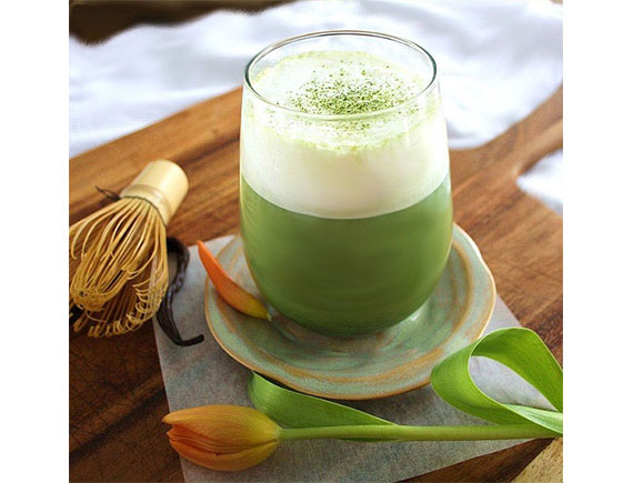 GREEN TEA VANILA ICE BLENDED