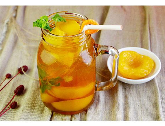 PEACH TEA MANIA Đào cam sả