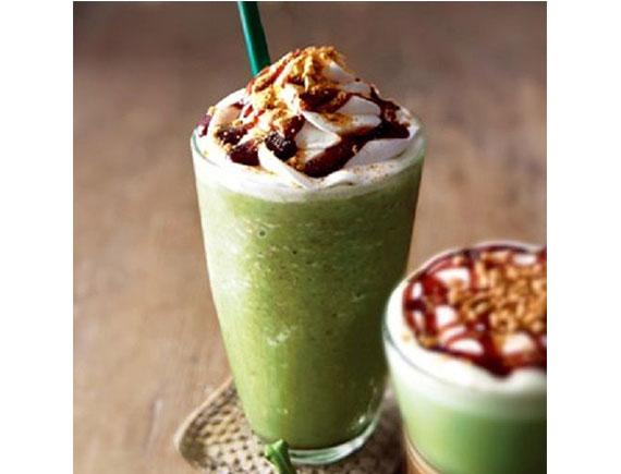 Trà xanh cà phê đá xay