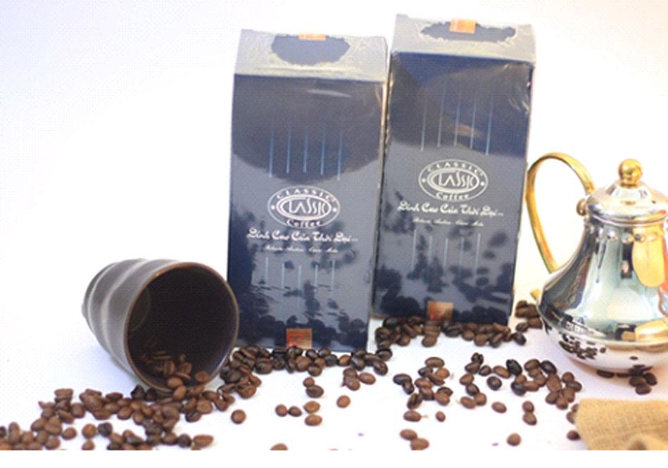 Cà phê chồn Classic được đóng gói thành phẩm